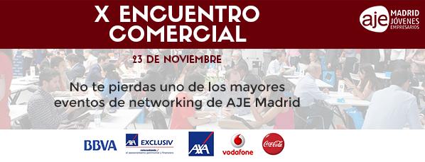 23 de noviembre: X Encuentro Comercial