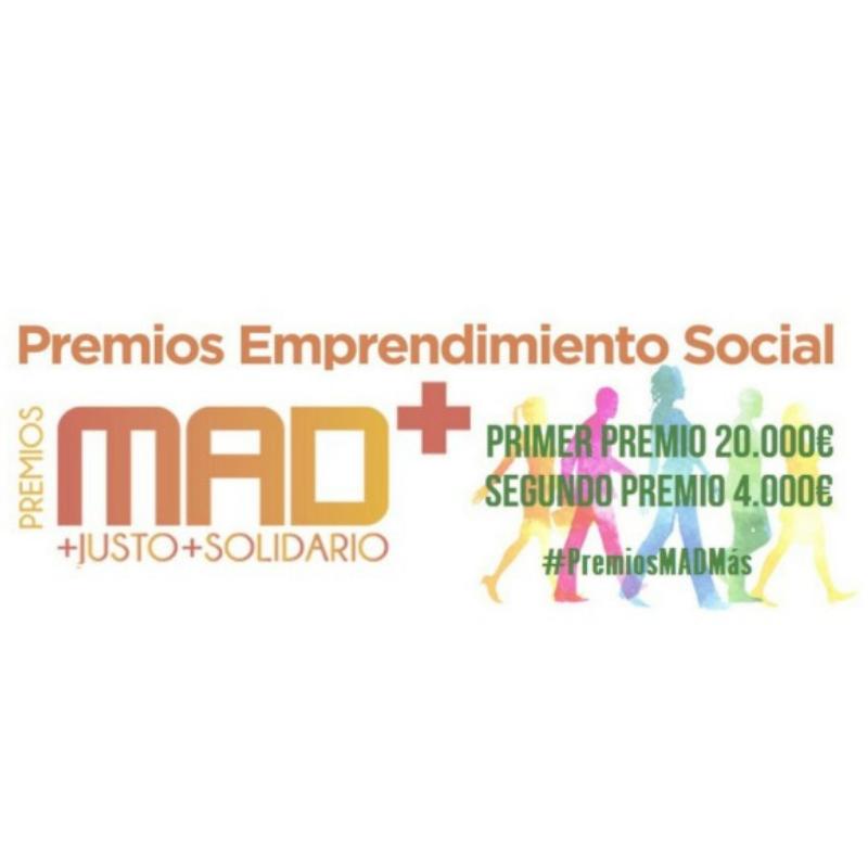 Premios MAD+2017: Madrid premia el emprendimiento social