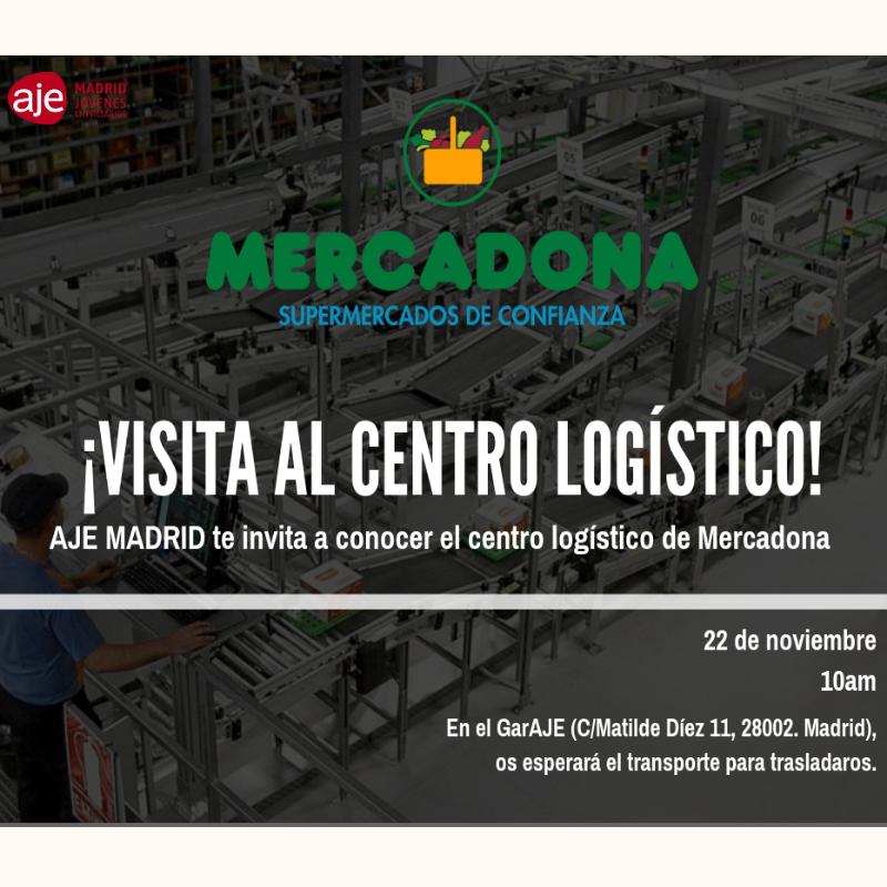 Visita al centro logístico de Mercadona