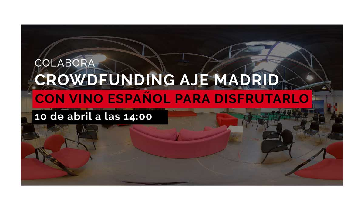 Crowdfunding AJE Madrid