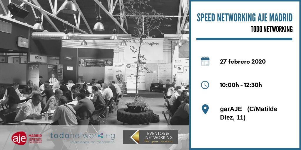 Speed Networking AJE Madrid